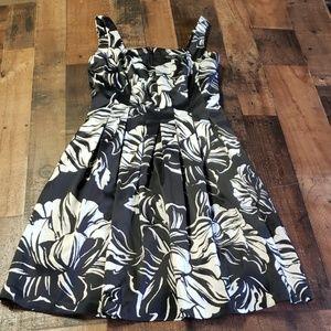White House Black Market Floral Dress Sz4